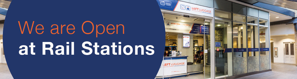 Rail Station Passenger Baggage Services Reliable Baggage Storage In The City Available In 16 Uk Rail Stations